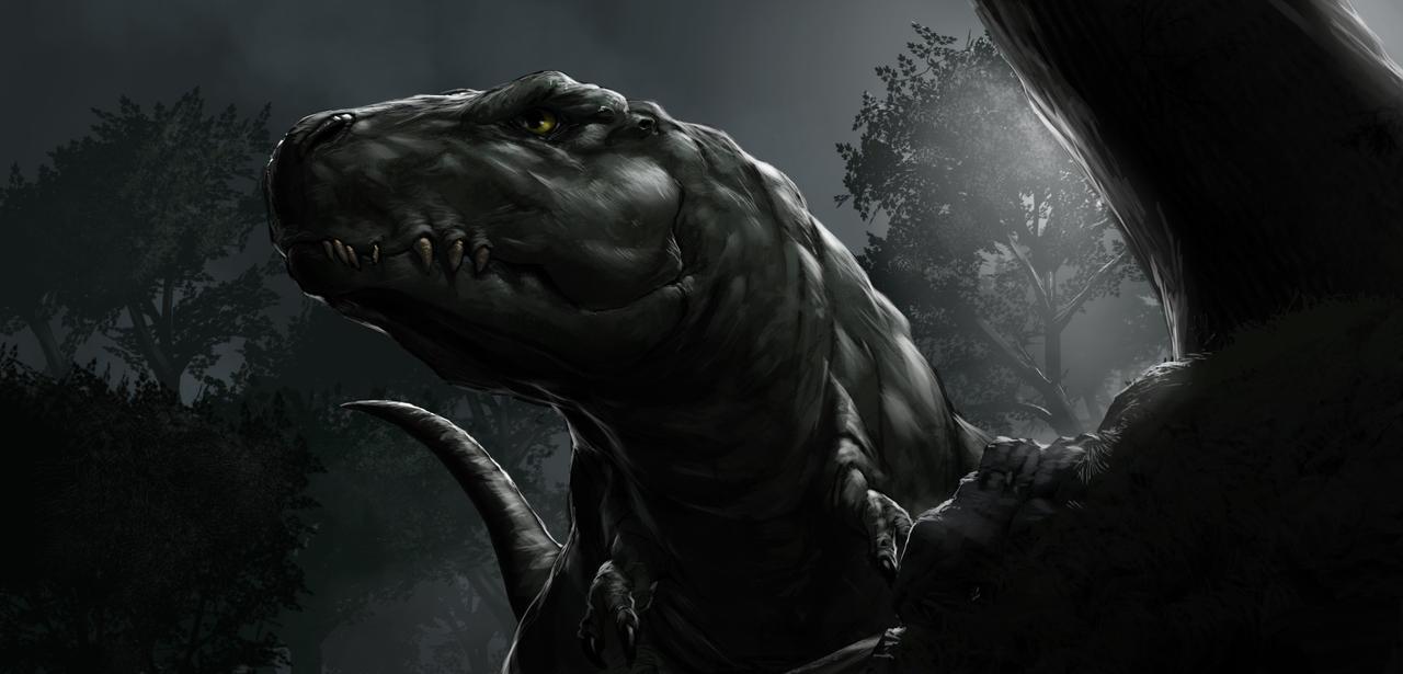 T-rex tiral