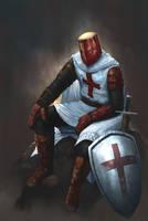 Crusader by MuratCALIS