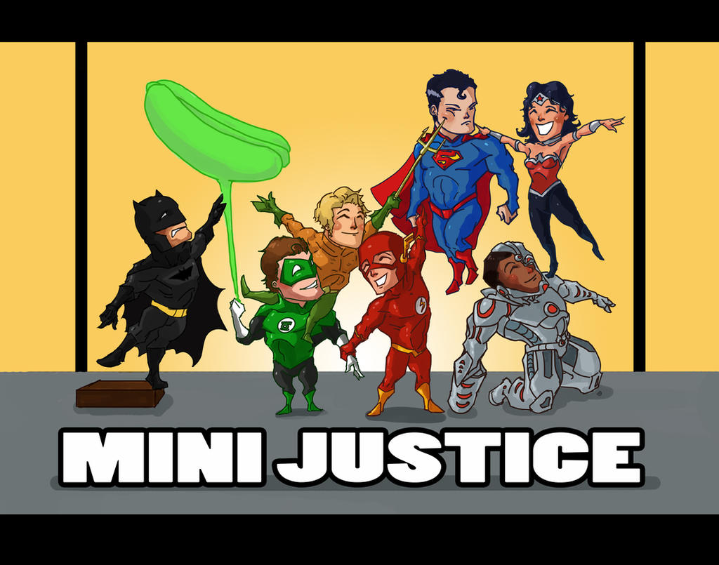 THE MINI JUSTICE by Wuxy