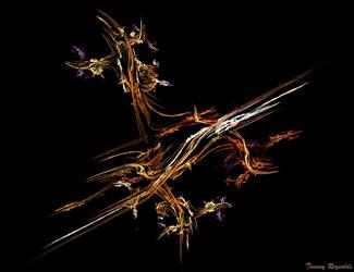 Flowers on the Deadwood by tijir