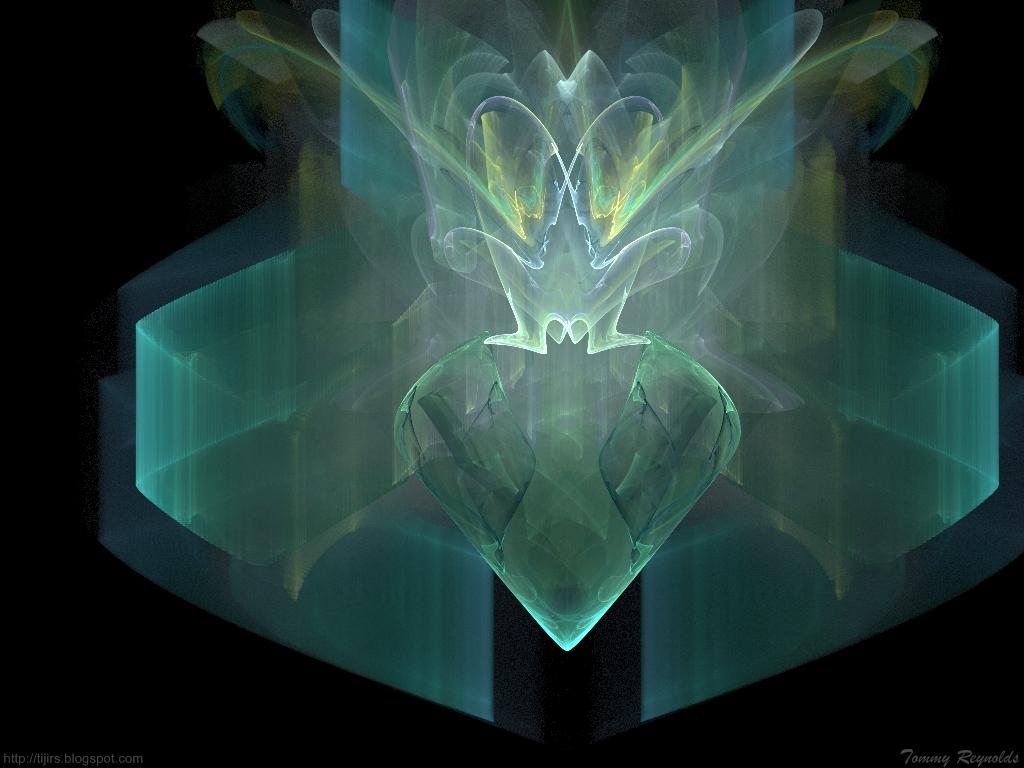 Fractal Diamond by tijir