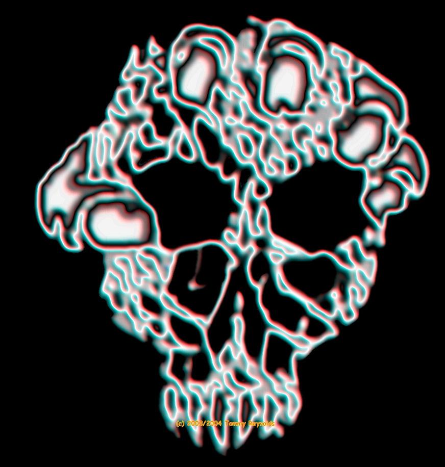 Light Skull by tijir