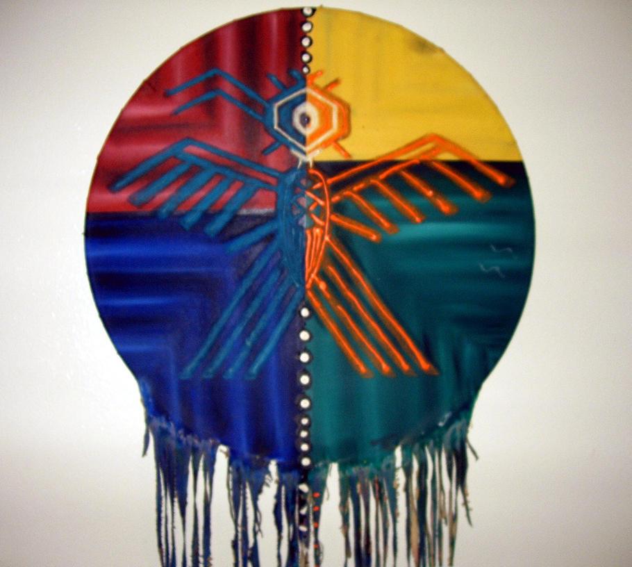 Native American Shield by tijir