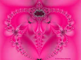 Valentine Fractal 1 by tijir
