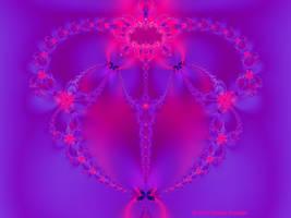 Valentine Fractal 7 by tijir