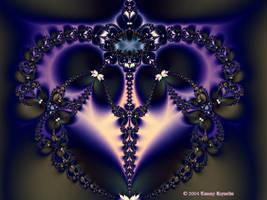 Valentine Fractal 14 by tijir