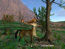 Unfinished Centaur by tijir
