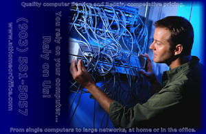 At Home or Office Blue Tech by tijir