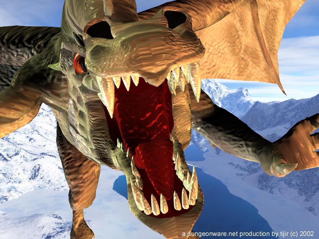 Oi A Dragon by tijir