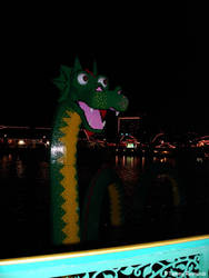 Lego Ness Monster by tijir