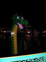 Lego Ness Monster by tijir
