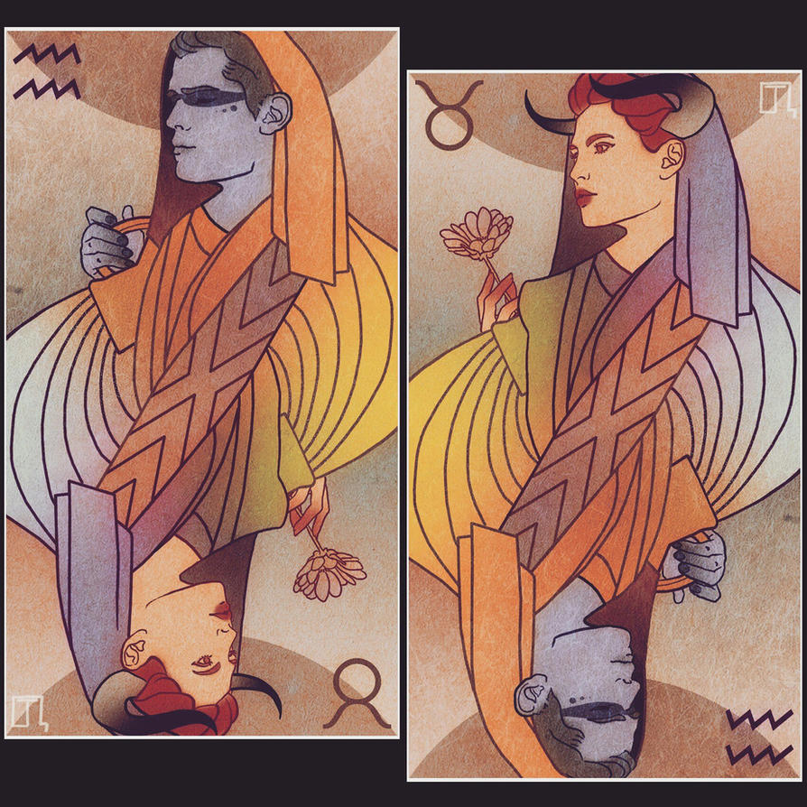 Taurus Aquarius by Sin-Amber