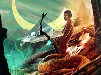 Lost Kingdom warrior by Sin-Amber