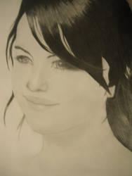 selena gomez portrait by IngridPin