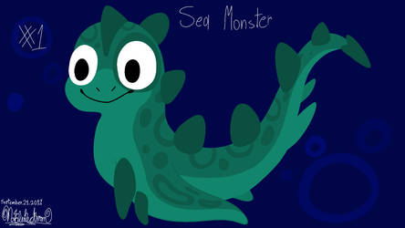 Daily Drawing #1: Sea Monster