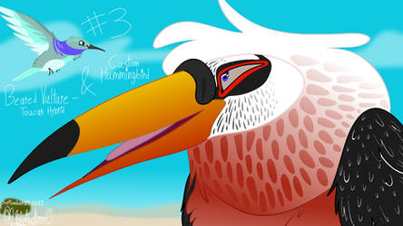 Daily Drawing #3: VLTR TCN Hyrbid And Hummingbird