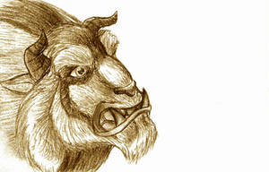 +Sketch beast is beastly+ by hollarity