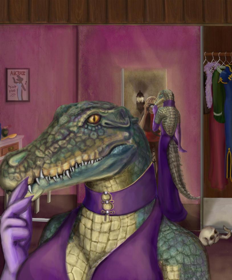 Crocodile Smile by hollarity