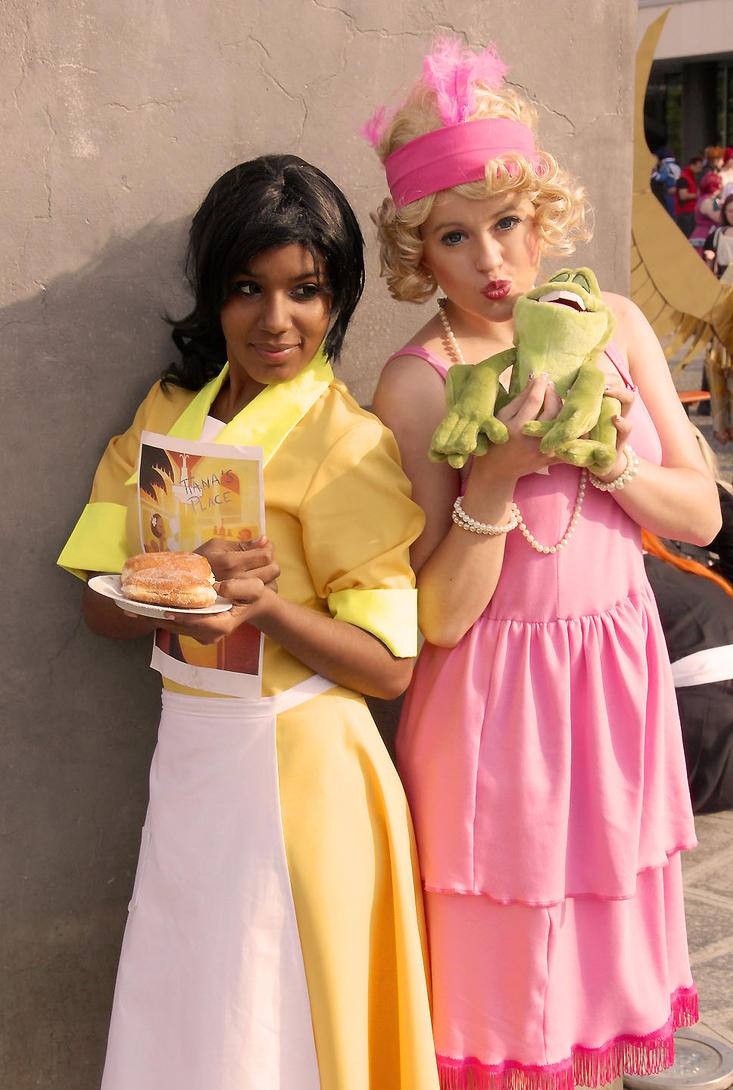 Tiana and Lotti Cosplay by llAngelusll