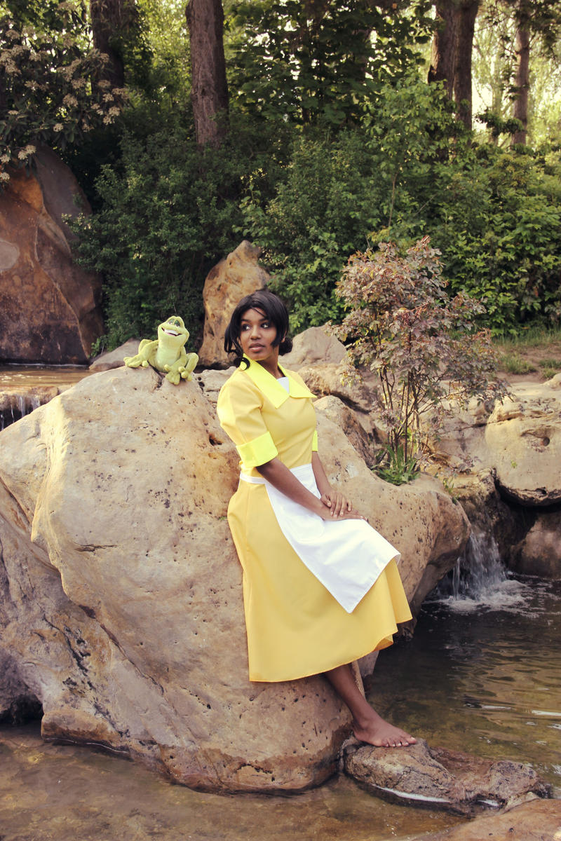 Almost there ..Tiana Cosplay by llAngelusll