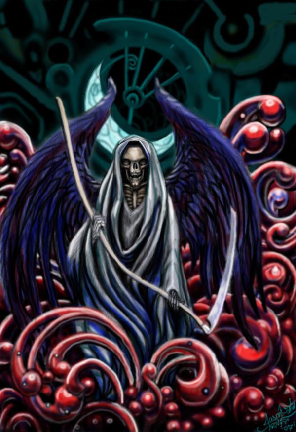 the grim reaper by jaszone