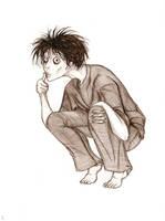 Tim Burton L by LoveLydetective