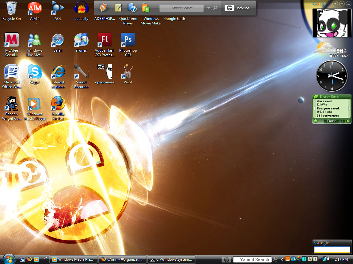 Epic smiley desktop by title=