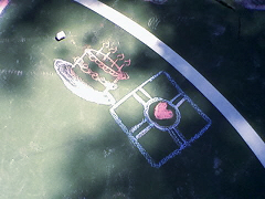 Portal Chalk by ColonelCheru