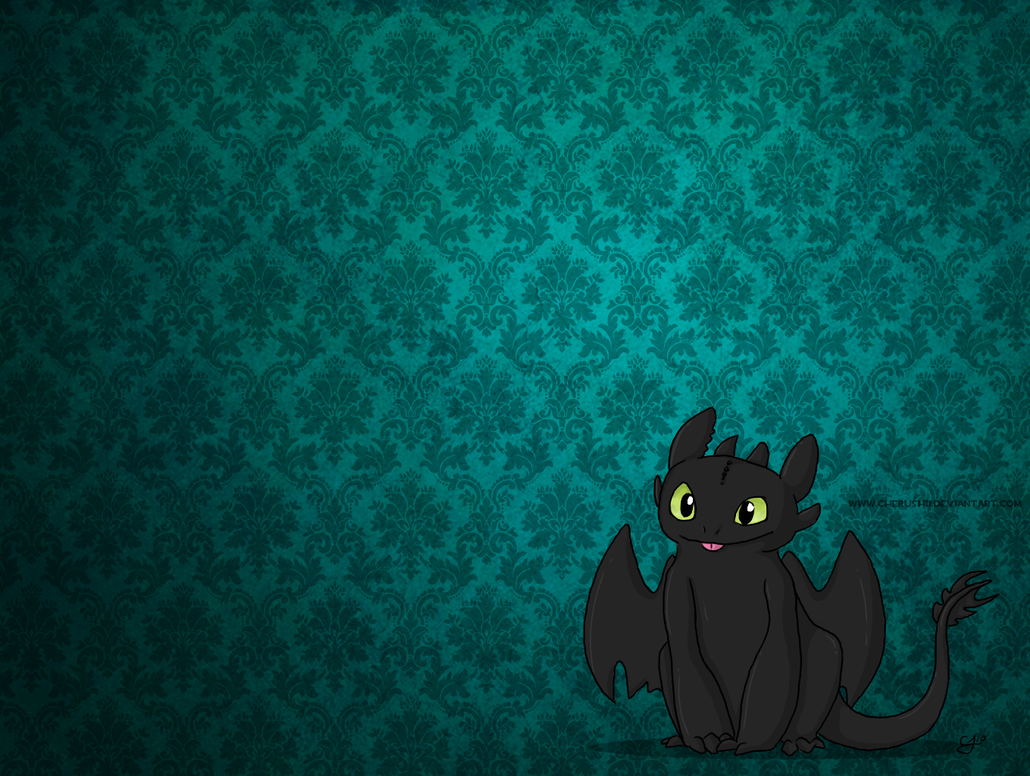 Toothless wallpaper by colonelcheru on deviantart - Toothless wallpaper ...