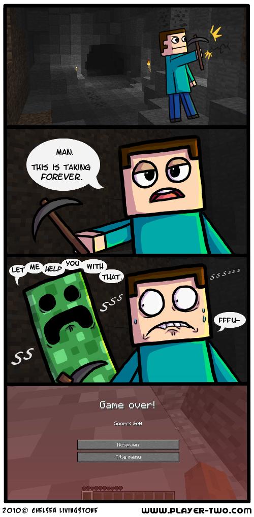 Minecraft - Caves by ColonelCheru