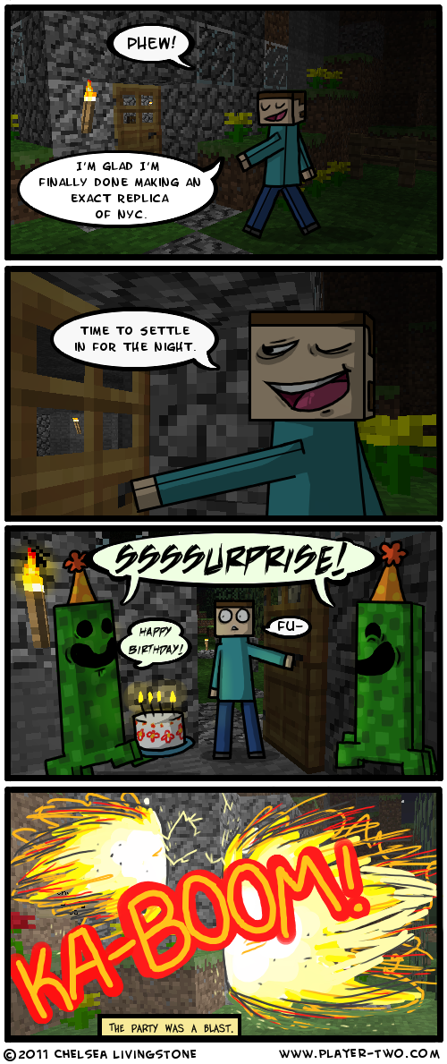 [Immagine: minecraft___birthdays_by_cherushii-d38felh.png]