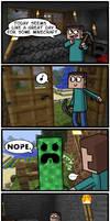 Minecraft Time by ColonelCheru