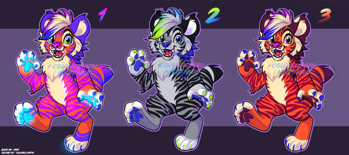 [OPEN 2/3]  - Adopts - Tiger Batch 1