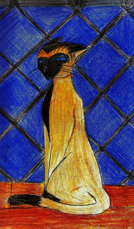 Discworld cats, Lord Vetinari by Ludicrous1