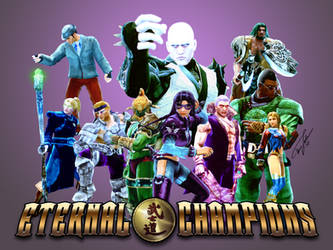 Eternal Champions by Hyde209