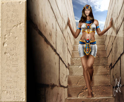 Amunet and the tomb of Beset