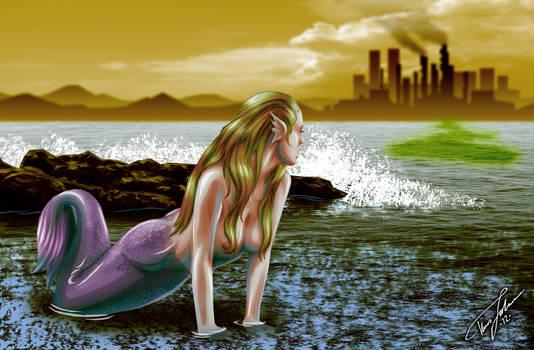 Mermaid in Shock