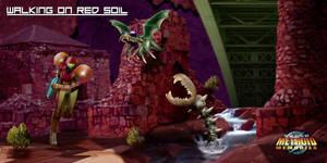 Super Metroid Memories - Walking on Red Soil by Hyde209