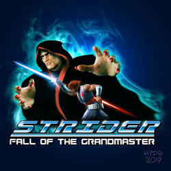 Strider Fall of the Grandmaster - Album Cover