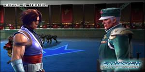 Strider Fall of the Grandmaster - Hiryu and Mikiel