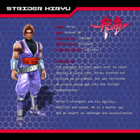 Strider Fall of the Grandmaster - Hiryu's Profile by Hyde209