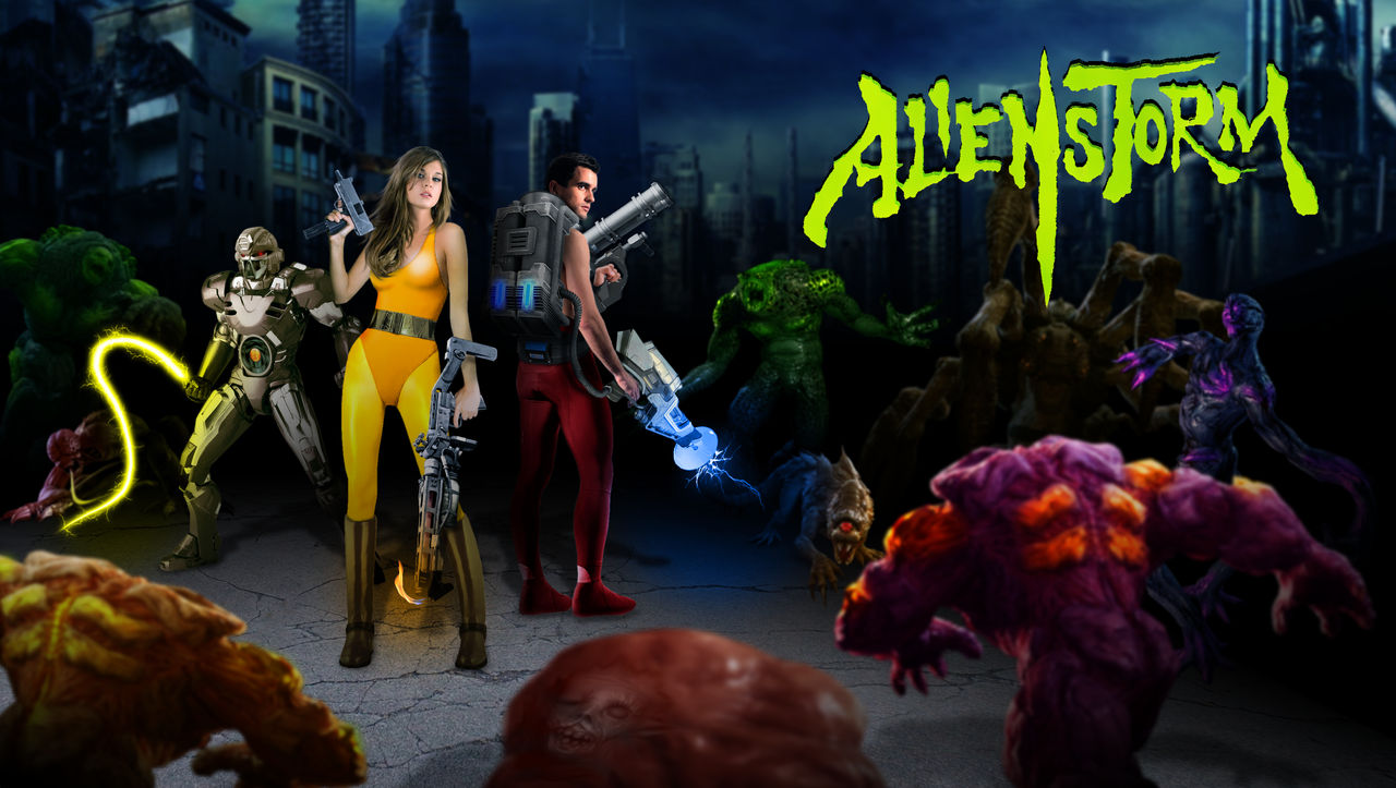 Alien Storm - We Are Busters!