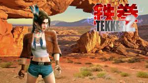 TEKKEN 2 - Michelle the Wandering Female Fighter