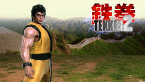 TEKKEN 2 - Law the Legendary Dragon