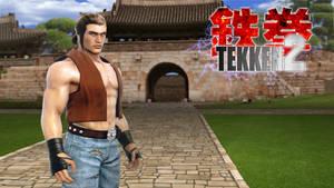 TEKKEN 2 - Baek the Dojang Master