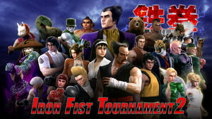 TEKKEN 2 - Iron Fist Tournament 2 Group Picture