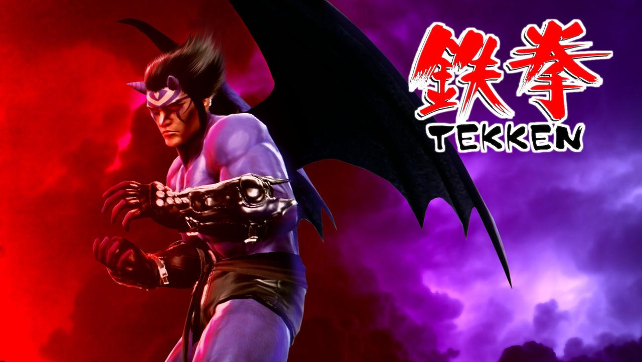 Tekken 1 Devil Kazuya By Hyde209 On Deviantart
