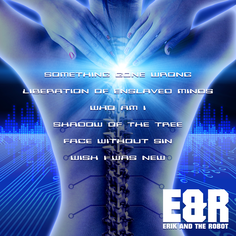 Erik and the Robot - Face Without Sin Album Back by Hyde209