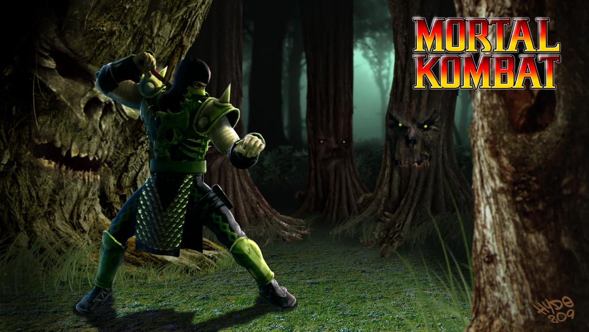 MK Tribute - Reptile the Saurian Ninja by Hyde209