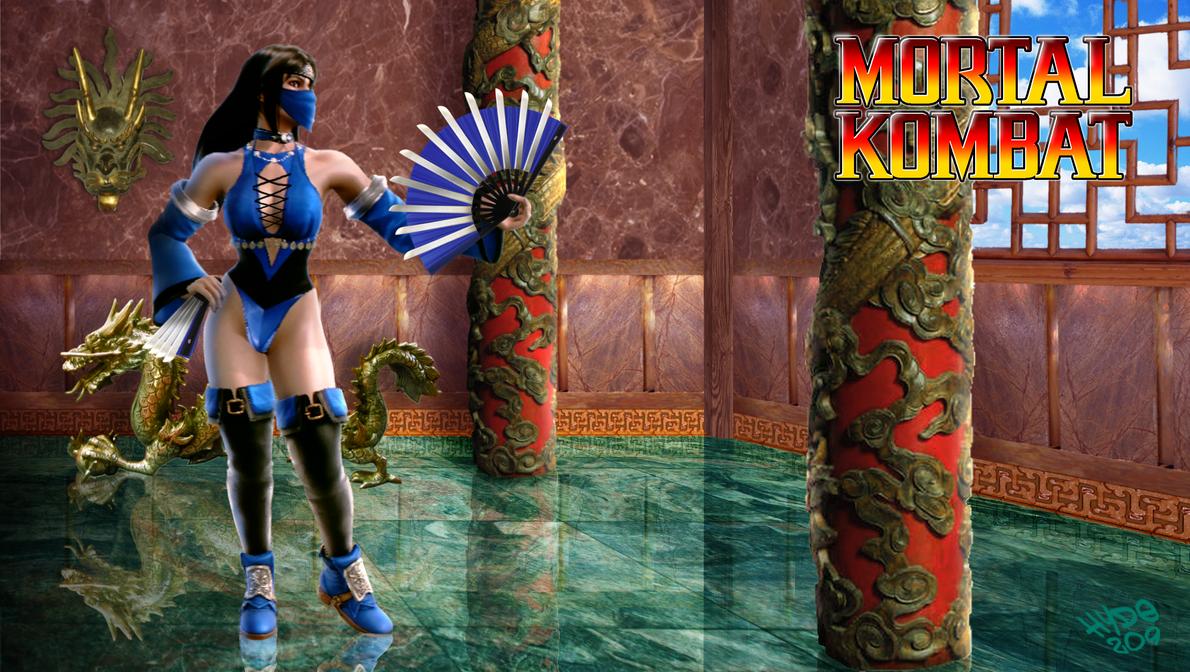 MK Tribute - Kitana the Edenian Princess by Hyde209